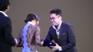 getlinkyoutube.com-하지원 Ha Jiwon got 'Producer's Choice' Pifan 2012