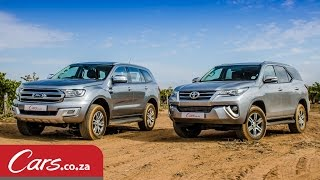 getlinkyoutube.com-Toyota Fortuner vs Ford Everest: In-Depth Comparison & Review (2016)