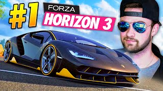 getlinkyoutube.com-LOOK AT MY EPIC NEW CAR! - Forza Horizon 3 Gameplay #1