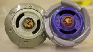 EPIC BATTLE - Tornado LDrago VS. Eagle - Hasbro Extreme Top System XTS