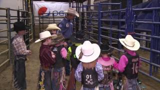 The Ride with Cord McCoy: Miniature Bull Riding