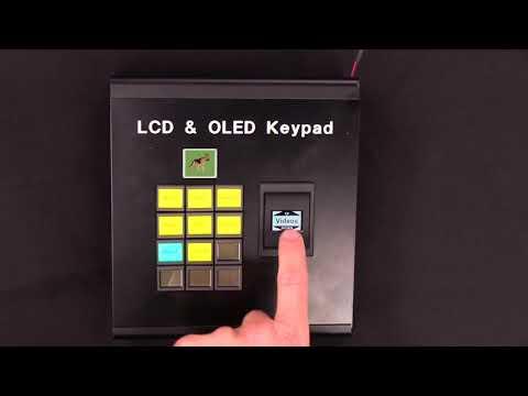 LCD and OLED Keypad