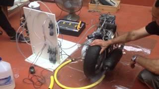 getlinkyoutube.com-Motor 2 tiempos y 50 cc funcionando sólo con gas oxihidrógeno (HHO)