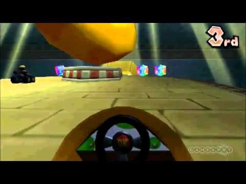 First-Person Mania - Mario Kart 7 Gameplay Video (3DS)