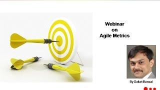 Webinar on Metrics For Agile Teams : iZenBridge