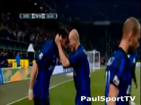 Inter - Milan 4-2 - Sky - Ampia Sintesi - Highlights (6-5-2012)