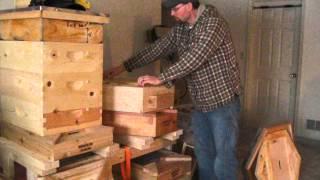 getlinkyoutube.com-hexagon hive built for cold climate/holistic