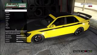 getlinkyoutube.com-GTA 5: FULLY CUSTOMIZED Mitsubishi Lancer Evolution (Karin Sultan) Los Santos Customs
