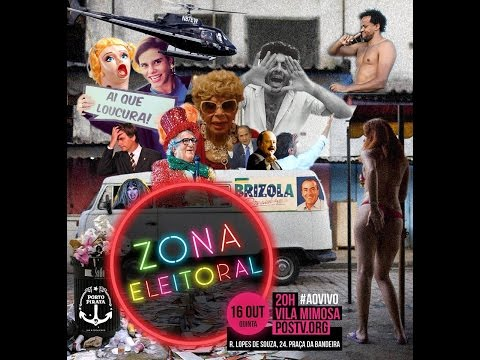 #ZONAELEITORAL na Vila Mimosa com Jean Wyllys Amir Haddad e Jandira Feghali
