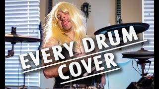 every type of drum cover width=