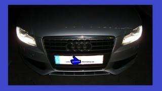 Audi A4 B8 (Typ 8K) Tagfahrlicht LED-Licht ausschalten einschalten Bj. 2007-2011