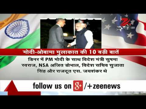 Highlights of Obama-Modi meet at White House