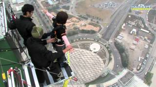 getlinkyoutube.com-高空彈跳in澳門觀光塔!! Bungy jump off macau tower!!