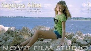"getlinkyoutube.com-MODEL PHOTO GALLERY ""My summer on the Volga"" Alina Sagitova (HD)"
