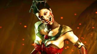 getlinkyoutube.com-Mortal Kombat X Mileena's Vampiress Costume w/ All fatalities & Brutalities