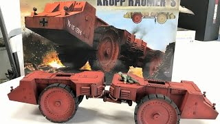 getlinkyoutube.com-Building the Takom 1/35 Raumer Mine roller ( Yes it is a real vehicle )