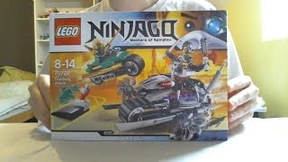 getlinkyoutube.com-LEGO Live Construction : Ninjago's OverBorg Attack (1/2) [Français]