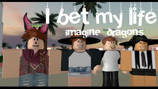 getlinkyoutube.com-Roblox I bet my life | Imagine Dragons (Roblox Music Video)