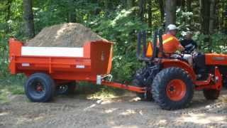 getlinkyoutube.com-Berkelmans Welding 2 Farm Dump Trailers