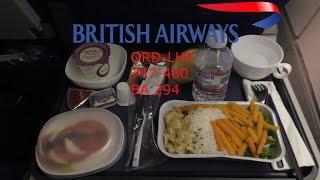getlinkyoutube.com-TRIP REPORT I British Airways World Traveller (Economy) I 747-400 I ORD-LHR