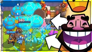 IT'S MADNESS! LAVA LOON CLONE 2v2 Clash Royale
