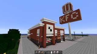 getlinkyoutube.com-Minecraft - KFC (City Build)