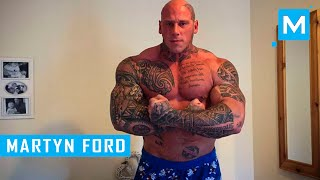 getlinkyoutube.com-Martyn Ford Training for Undisputed IV:Boyka | Muscle Madness