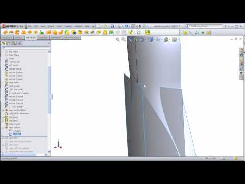 DSID136-SP11, Dish Detergent Bottle, Solidworks Tutorial, Part 2