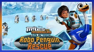 getlinkyoutube.com-Miles From Tomorrowland - Galactech Robo Penguin Rescue - Disney Junior App