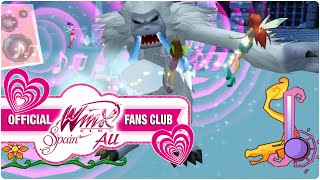 getlinkyoutube.com-Winx Club PC Game - 30. Winx Club VS Mr. Abominable