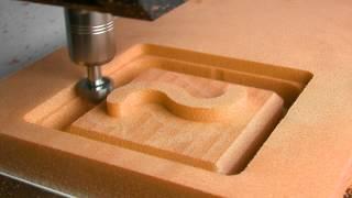 getlinkyoutube.com-Cutting PU Foam with CNC Milling Machine