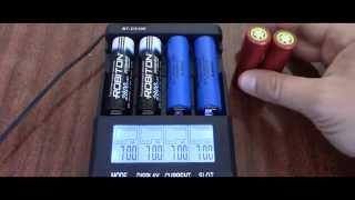 getlinkyoutube.com-Тест аккумуляторов 18650 на реальную ёмкость