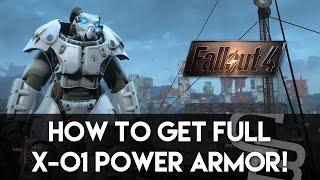 getlinkyoutube.com-Fallout 4 - How To Get Full X-01 Power Armor! (Rare Power Armor Location)