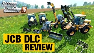 getlinkyoutube.com-JCB DLC Test Drive | Farming Simulator 2015 Review