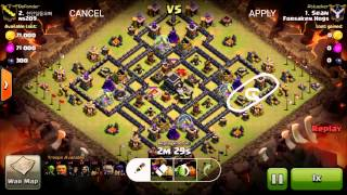 getlinkyoutube.com-War 66 - GoHo 3-star Attack (The Tailor)