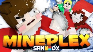 getlinkyoutube.com-얼음 메테오가 쏟아진다!! [마인크래프트: 눈싸움 전쟁] Minecraft - Snow Fight - [도티]