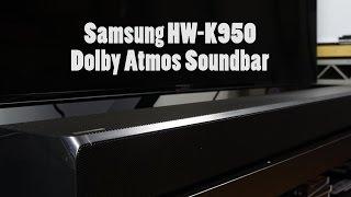 getlinkyoutube.com-Samsung HW-K950 Dolby Atmos Soundbar Review: Cinematic Audio!!!