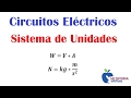 Sistema de Unidades - Circuitos Eléctricos - Unit System - Electric Circuits - Video 02