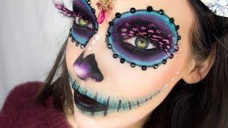 getlinkyoutube.com-Sugarskull makeup