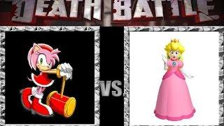 getlinkyoutube.com-Good and Bad DEATH BATTLES: Princess Peach vs. Amy Rose