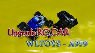 getlinkyoutube.com-How to Upgrade Wltoys A959 1/18 RC Car Brushless Max Speed