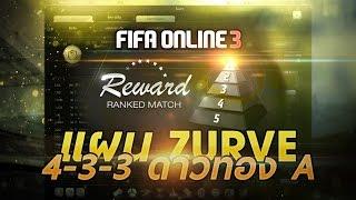 getlinkyoutube.com-FIFA ONLINE 3 | แผน Ranking ดาวทอง A มูลค่าทีม 99 ล้าน #ZURVE