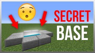 getlinkyoutube.com-Minecraft 1.10: Redstone Tutorial - Secret Underground Entrance!