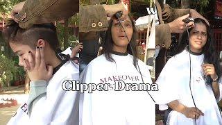 Open Air Haircut Series Epi# 5 (Clipper Drama)