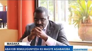 Abavubi bemulugunyizza ku magye agabakuba kibooko.