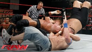 getlinkyoutube.com-Cena vs. Orton vs. Triple H vs. Big Show — Fatal 4-Way WWE Championship Match: Raw, June 15, 2009