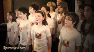 getlinkyoutube.com-HAPPY NEW YEAR 2016 -The Fantastikids, english children choir