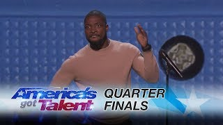 Preacher Lawson: Comedian Covers Clapping to Smartphones - America's Got Talent 2017