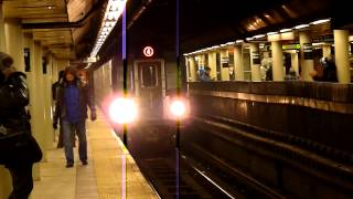 getlinkyoutube.com-R142 and R142A 4, and R142 5 trains at Bowling Green