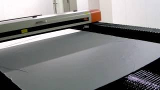 getlinkyoutube.com-Резка ткани лазерным станком StepDir 160300 Textile